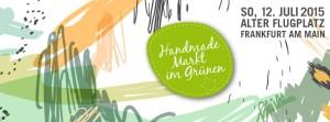 Handmade Markt im Grünen 2015