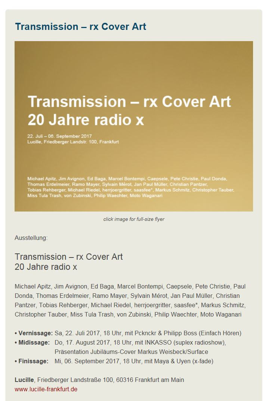 radio x frankfurt