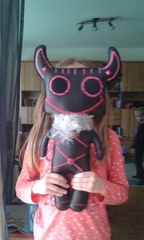 Anna und ihr Spooky Monster